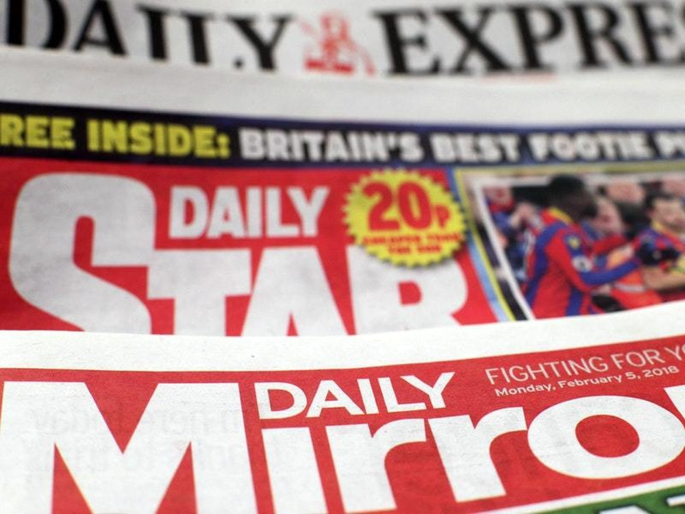 Mirror and Express owner slumps to £113m loss