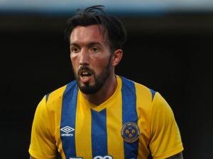 Ryan Bowman of Shrewsbury Town. (AMA)