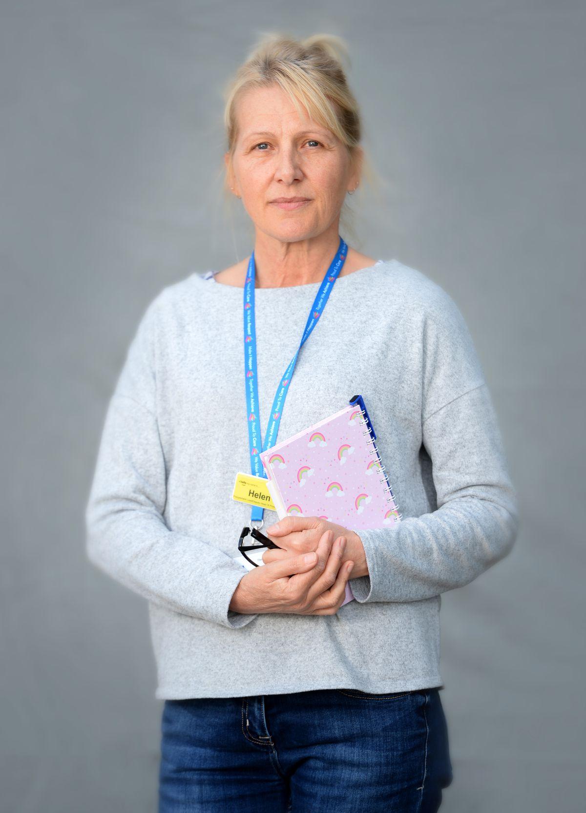 Helen Lewis, deputy head of procurement..