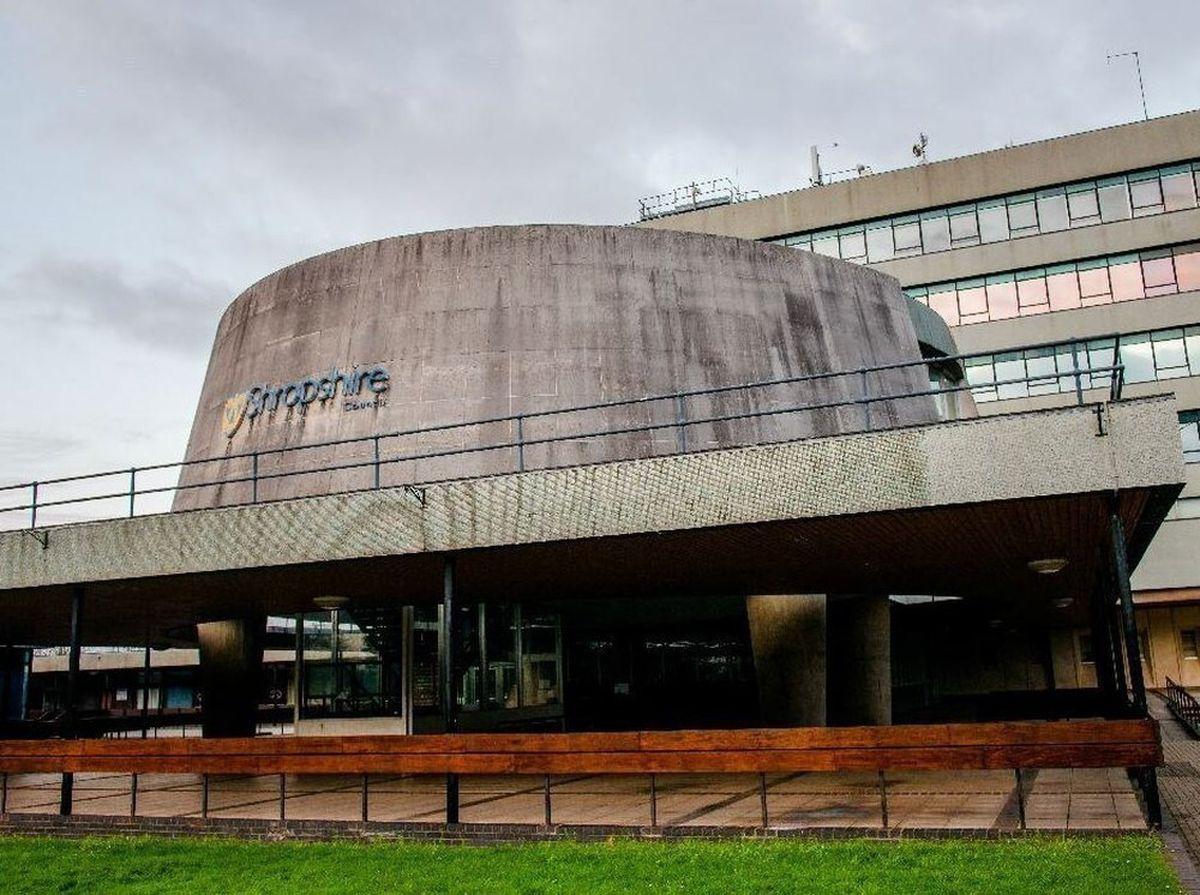 Shropshire Council's HQ at Shirehall, Shrewsbury