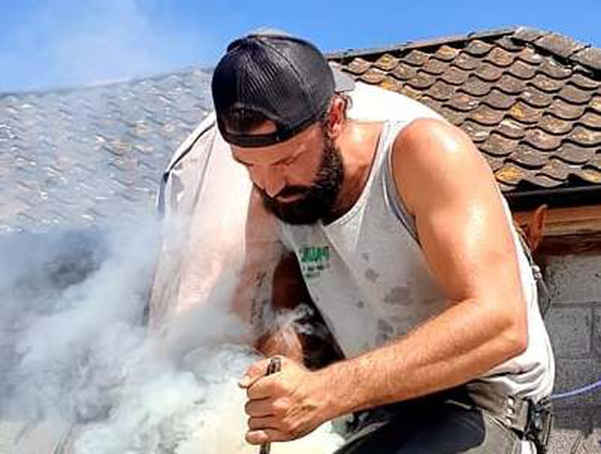 Shropshire farrier Sam Woolham turns up the heat in Somerset