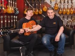 Birmingham's Guitarguitar offer free lefty guitar lessons for International Left-Handed Day