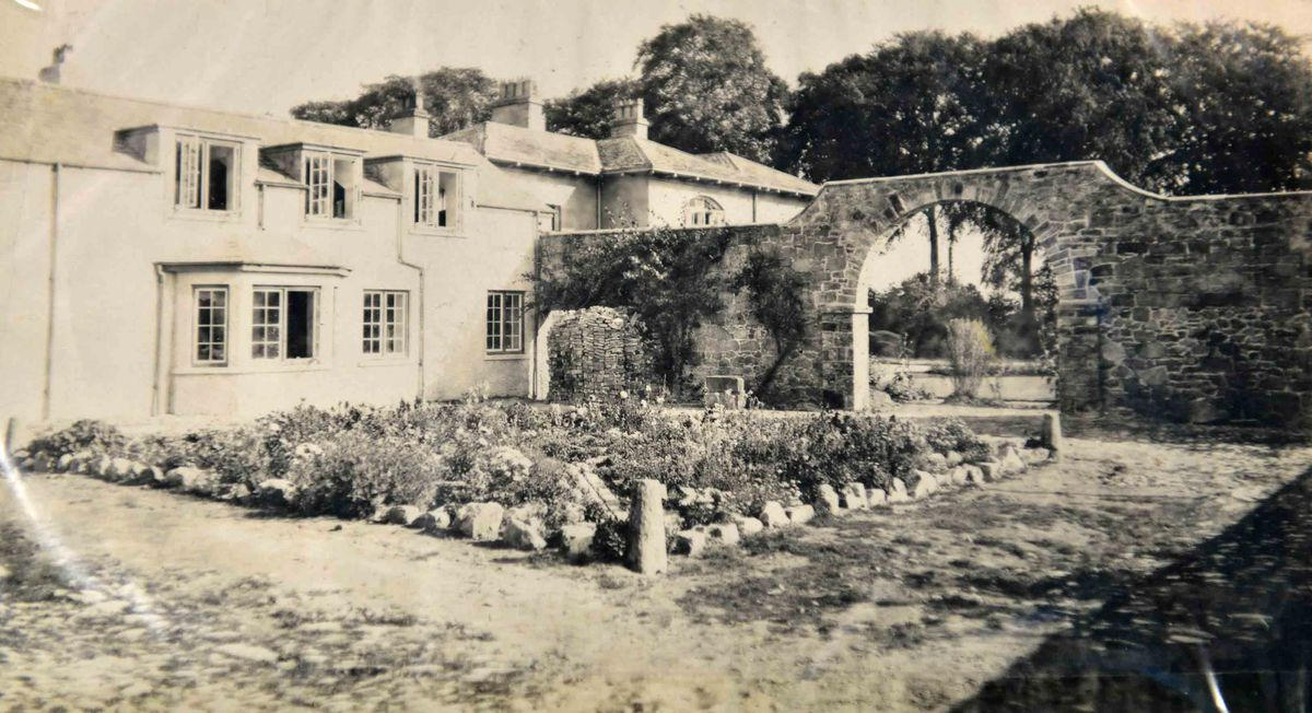 The original house that still stands that the college was built aroun