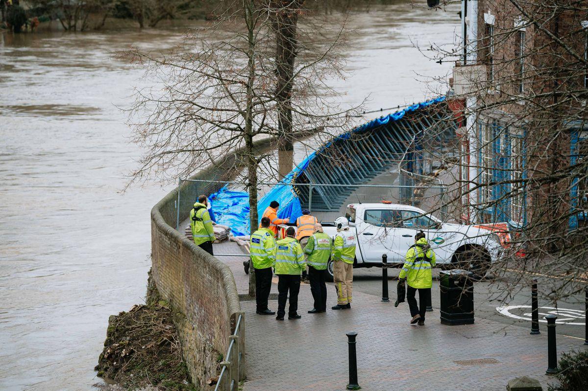 Flooding in Ironbridge