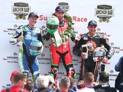 Michael Rutter bags podium at North West 200