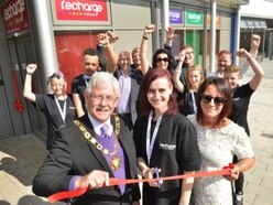 VIP opening for new Telford youth help centre
