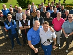 Steve Bull swings in for Shropshire charity golf day with £12,000 raised for cancer trust