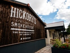 Hickory's Smokehouse on the way to Shropshire