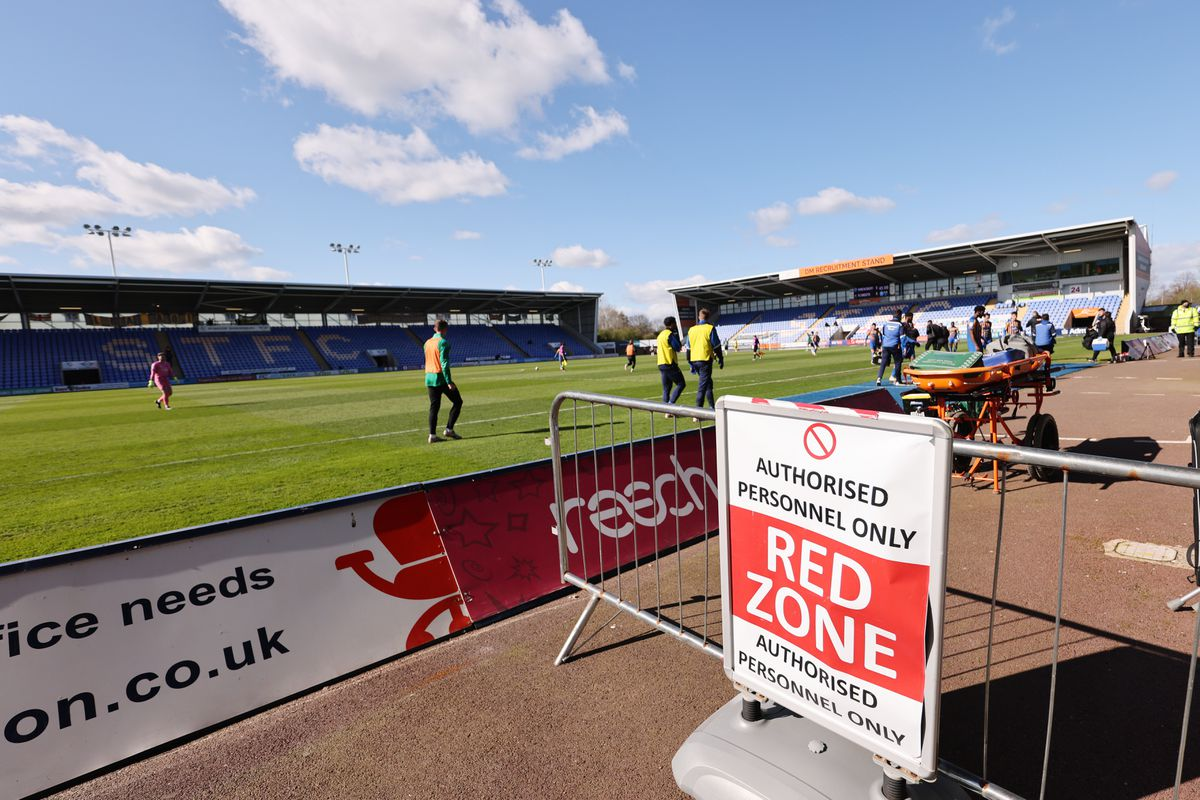 Town missed five home fixture at the end of the 2019/20 League One season, which was curtailed early due to Covid-19. Ninety per cent of fans kept monies with the club rather than asking for a refund. (AMA)