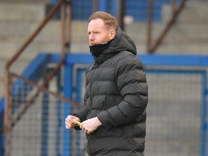 Telford manager Gavin Cowan