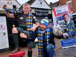 Totally tartan as Bridgnorth Rugby Club to hold annual Burns Supper