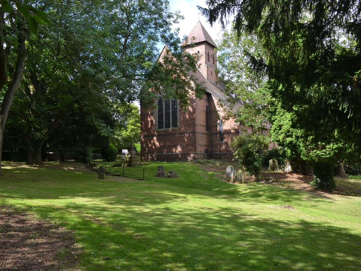 The Turleys were both buried in the churchyard at Oakengates – but we haven't been able to find the graves
