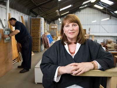 Shropshire furniture charity founder Jean Jarvis moves on