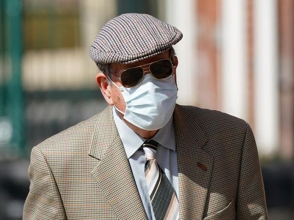 David Venables arrives at court
