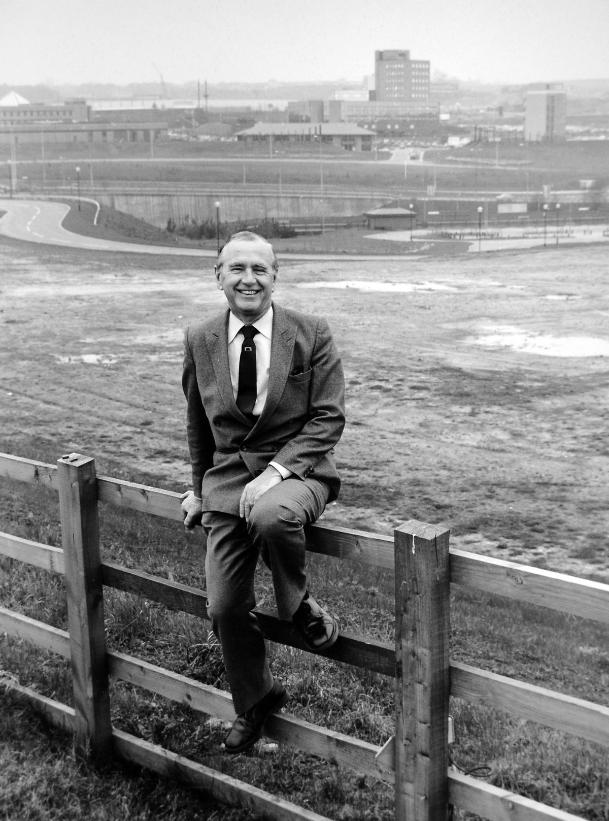 Lord Northfield, chairman of Telford Development Corporation – as Donald Chapman, he was Labour MP for Birmingham (Northfield) from 1951 to 1970.