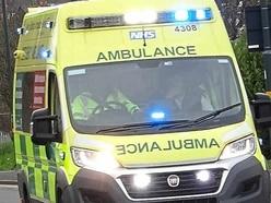 Three taken to hospital after crash near Shrewsbury