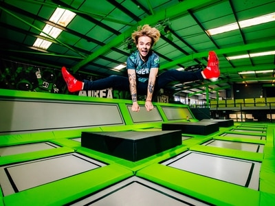 Telford's first trampoline centre is bouncing - with video