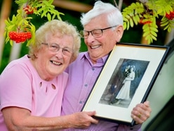 Love and laughter 65 years on for Shrewsbury couple