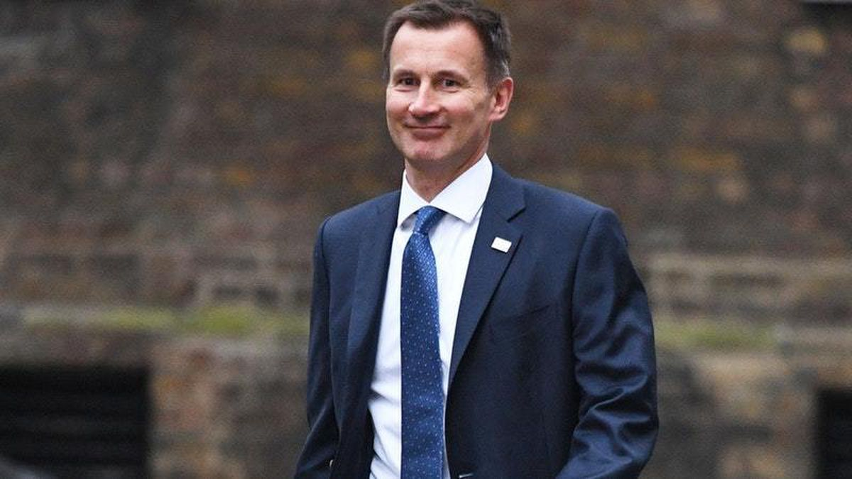 Jeremy Hunt's job title has changed from Health Secretary to Secretary of State for Health and Social Care