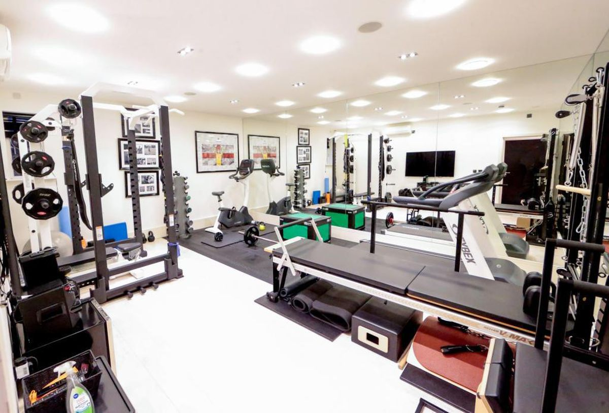 The gym. Picture: Rightmove