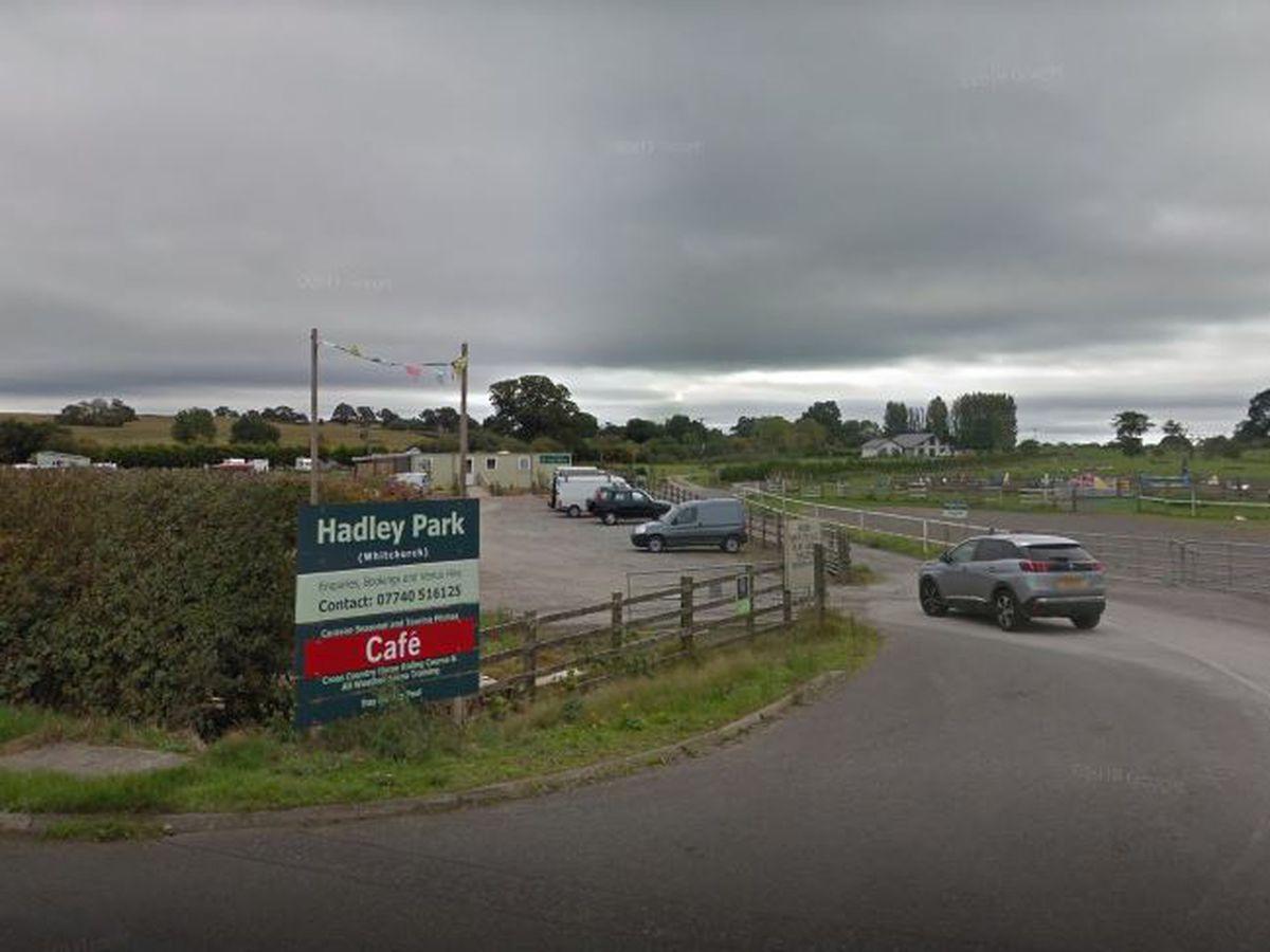 The entrance to Hadley Park. Photo: Google.