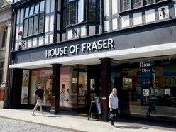 Shrewsbury's House of Fraser closure date confirmed