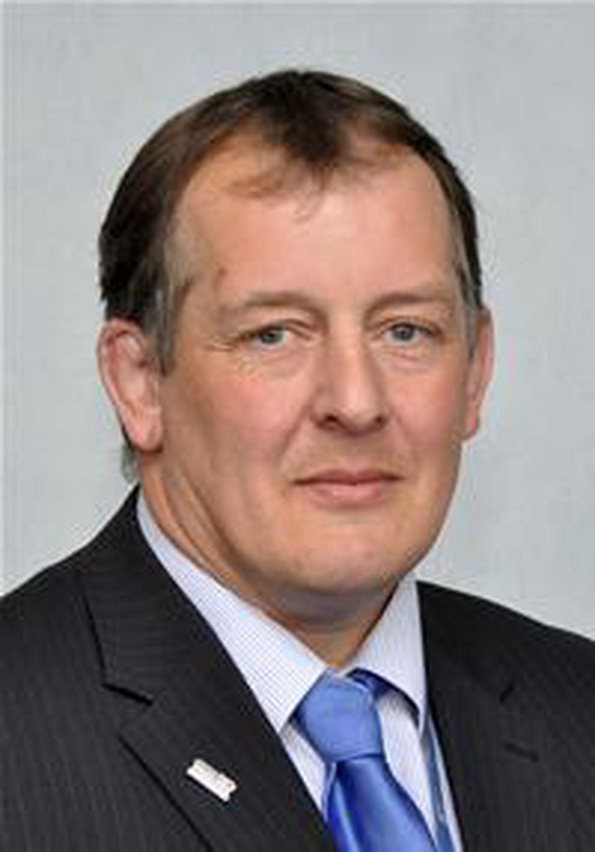 Whittington Councillor Steve Charmley