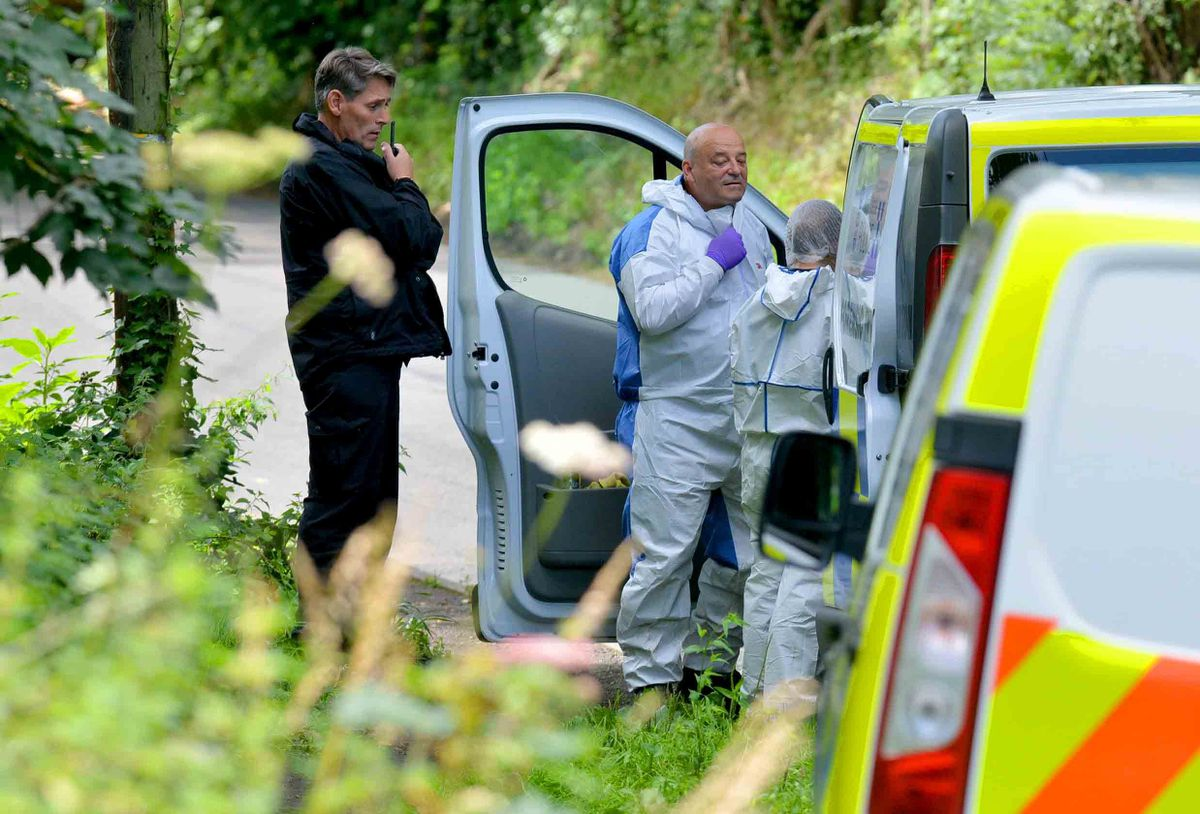 Police teams found Mrs Fox's remains in woods near to Ironbridge