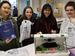 Students considering medical careers can meet health professionals in Shropshire