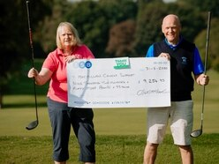 Oswestry golf captains raise £9,000 for charity