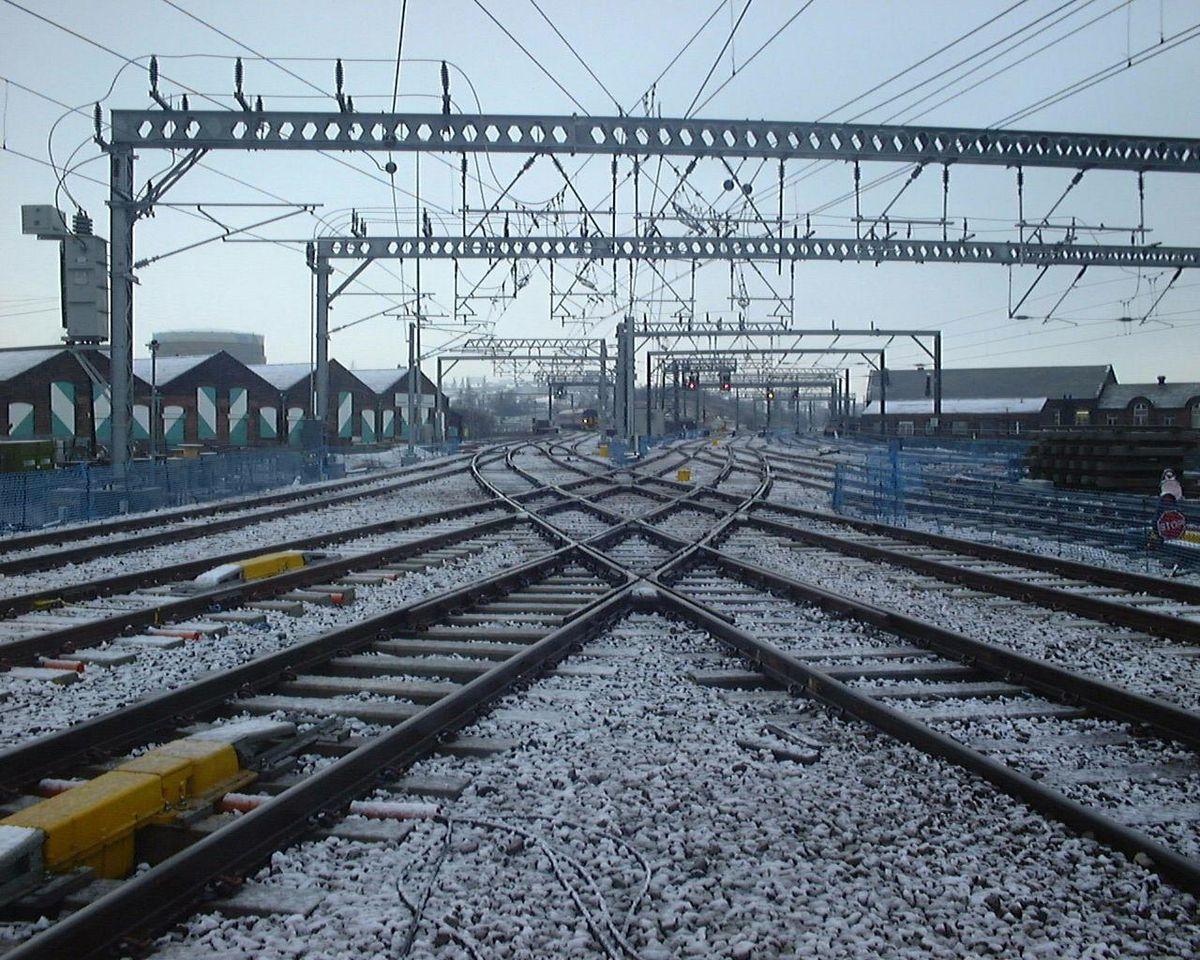 Overhead railway line electrification is set to revolutionise train travel across the region