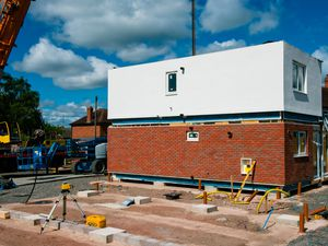 New modular homes being built in Telford