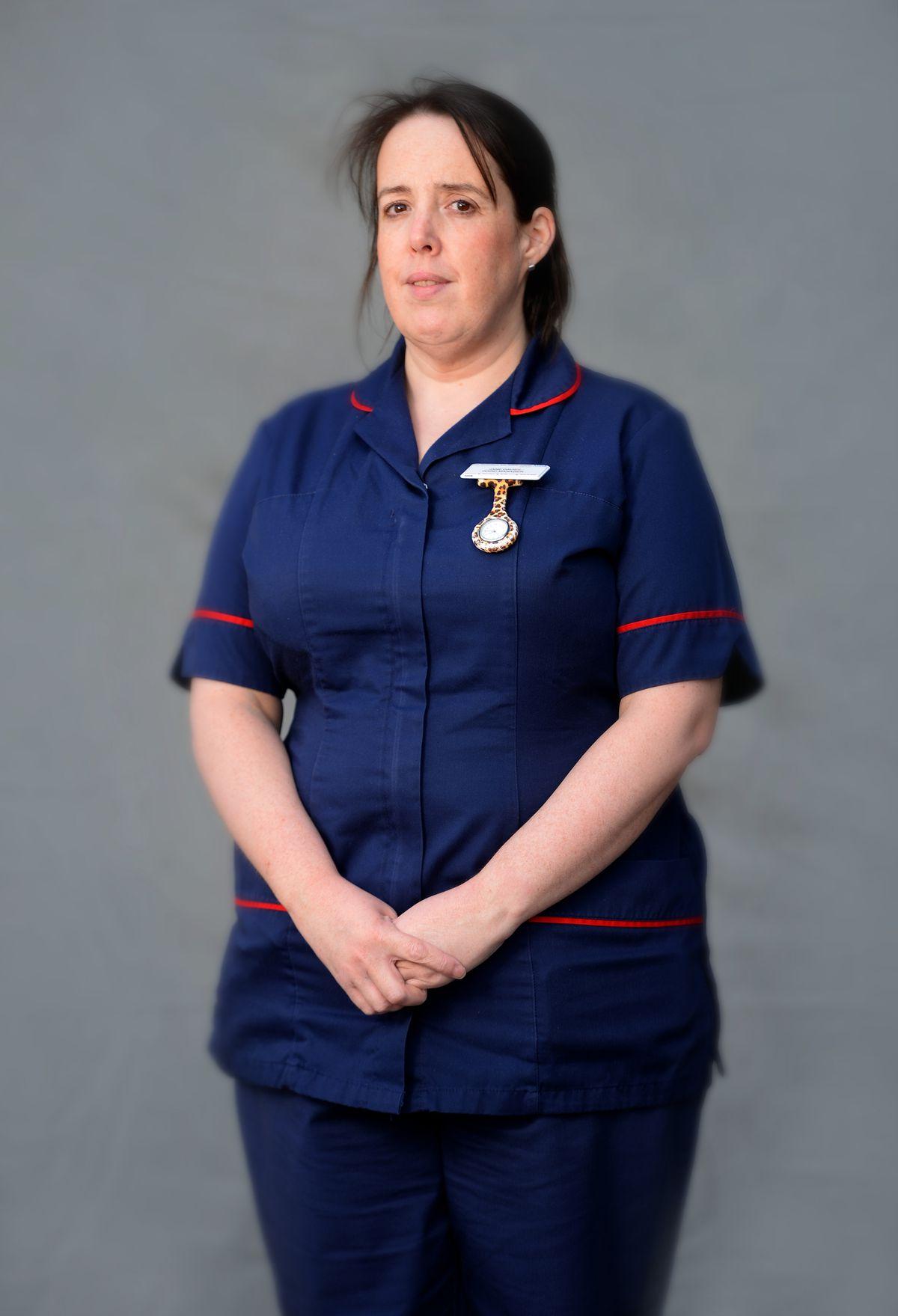 Jane Davies, ITU ward manager