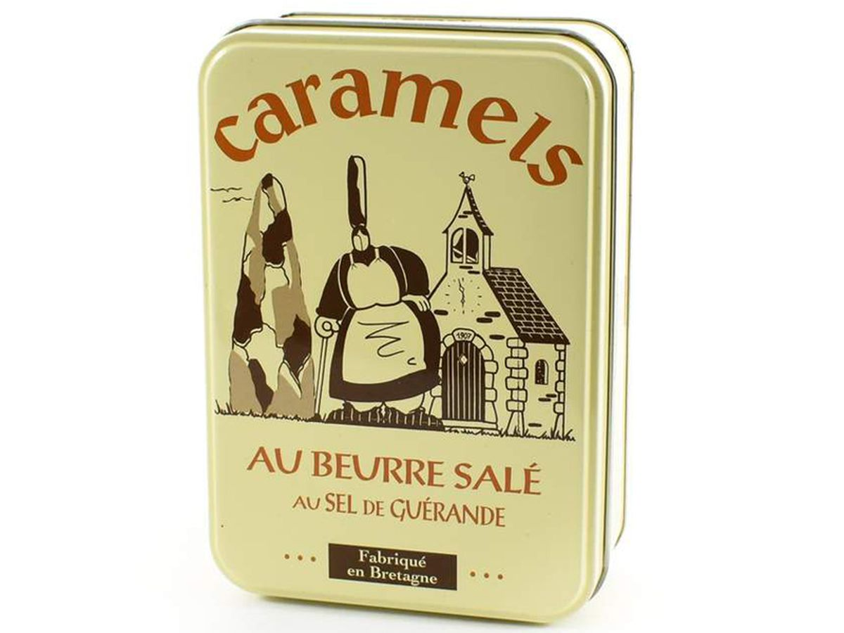 Sous Chef French Salted Butter Caramels in Gift Tin