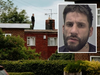 Telford man still on the run after rooftop standoff