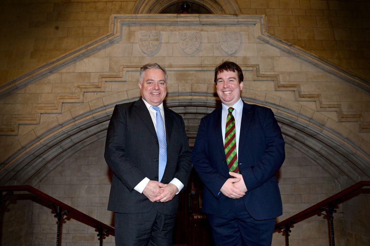 Newbies – Clwyd South MP Simon Baynes and Montgomeryshire MP Craig Williams