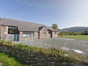 Llanbedr Church in Wales primary school - in the Vale of Grwyney near Crickhowell - picture from Google Street View