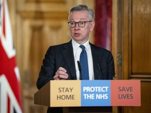 Chancellor of the Duchy of Lancaster Michael Gove