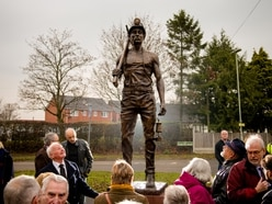 Statue marks 50 years since Ifton Colliery's closure