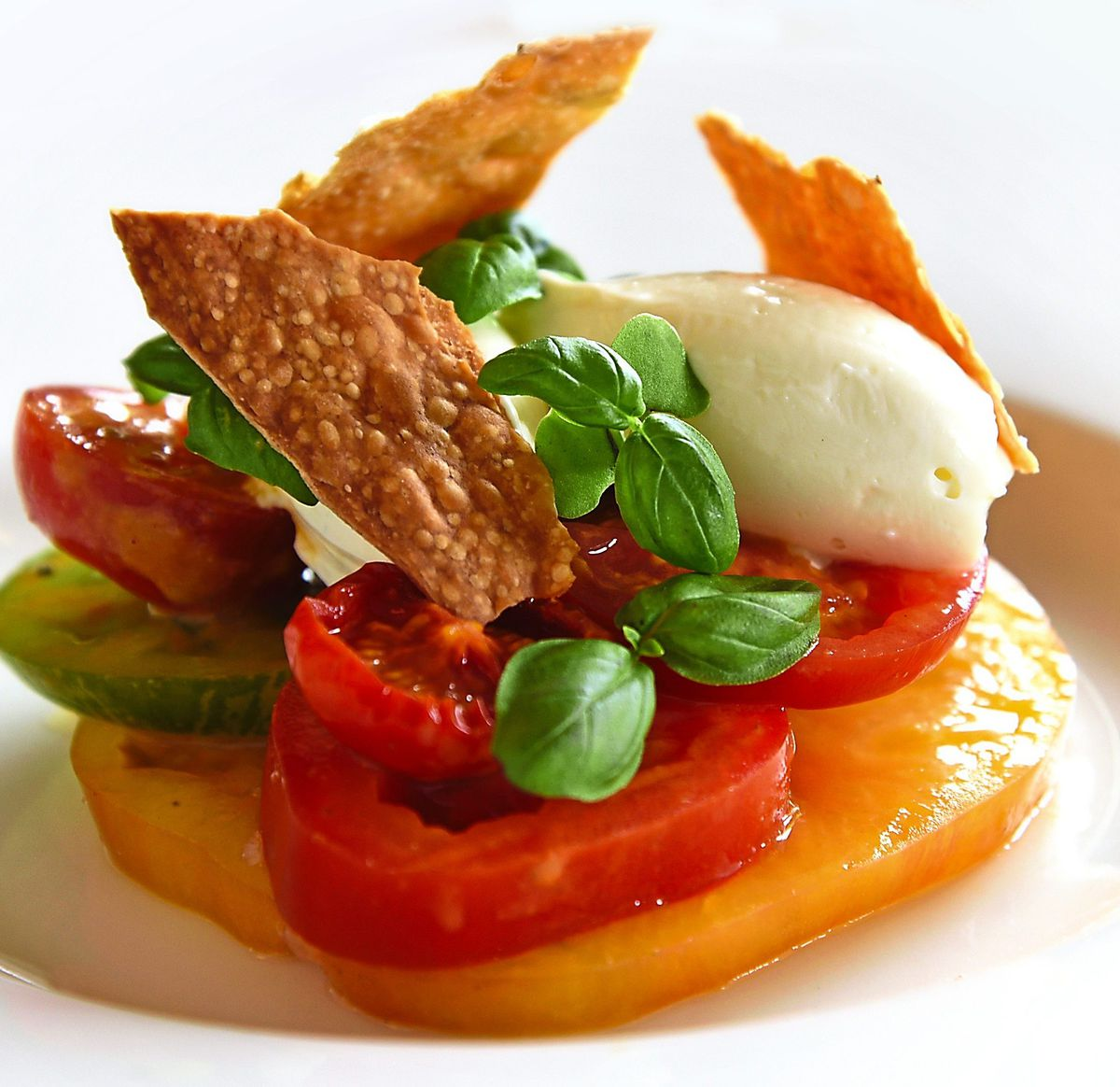 Fresh flavours – the tomato salad dish