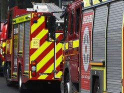 Van attacked by arsonists in Telford
