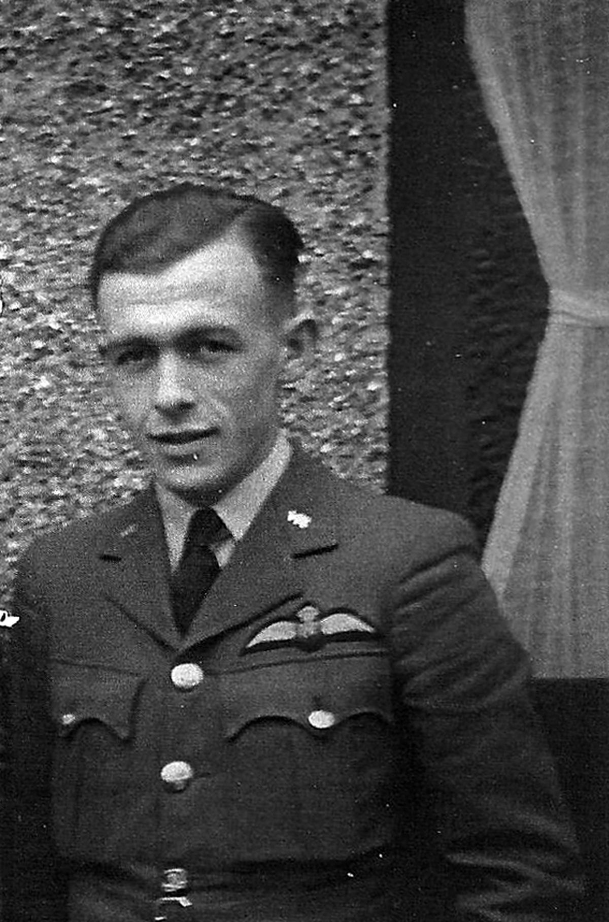 """One of """"The Few"""" - Ron Smyth in 1942."""