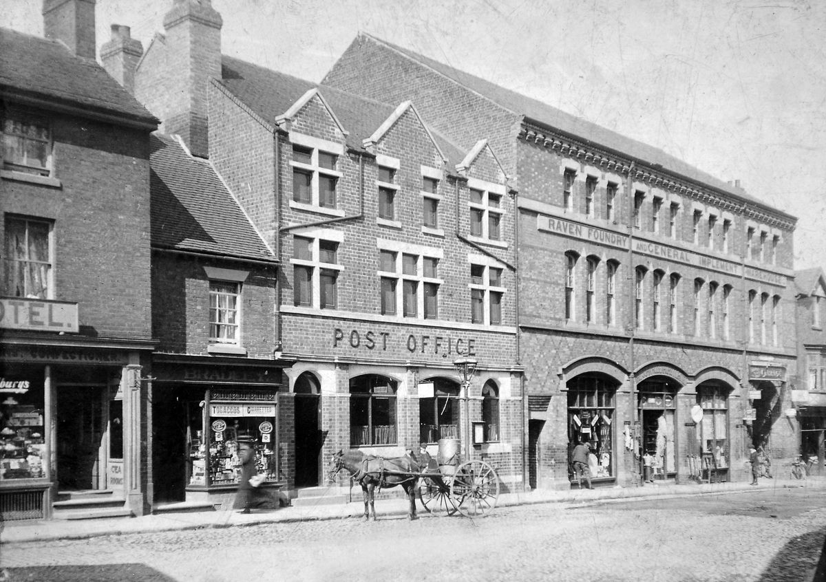 The John Rodenhurst building of 1877 which transformed Cheshire Street, and was itself demolished in the early 1970s.