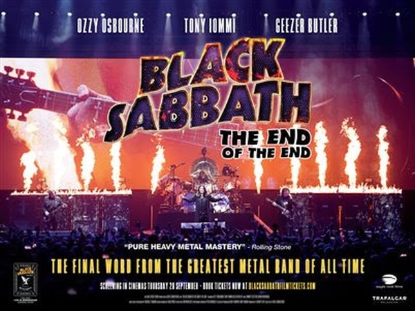 Black Sabbath film coming to the Midlands and Shropshire