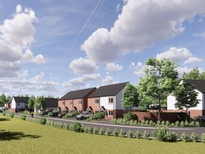 An artist's impression of the proposed homes