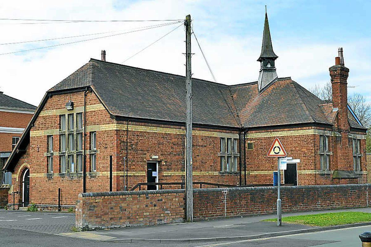 The former register office at Column Lodge, Shrewsbury