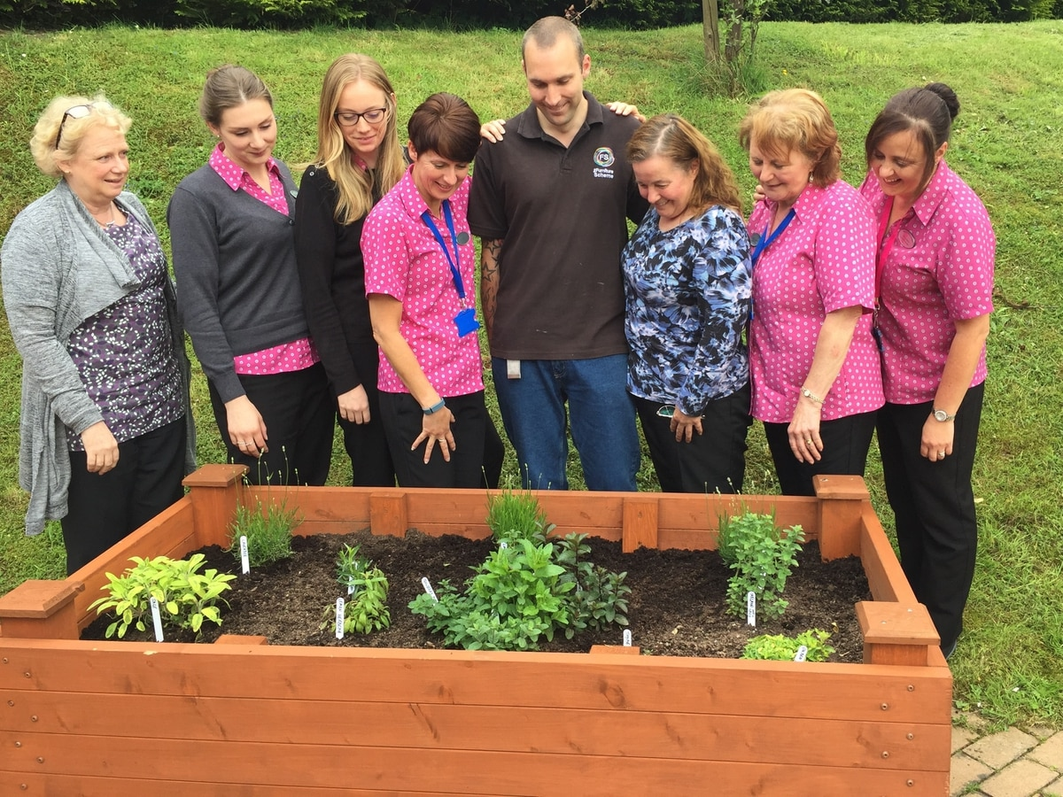 Patients make planters at Ludlow surgery   Shropshire Star
