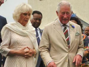 Camilla, Duchess of Cornwall and Prince Charles at the Royal Welsh Show.