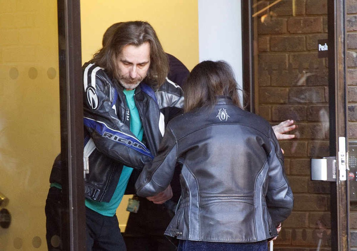 Edward and Julie Harris at Telford Magistrates Court