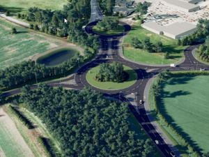 """If the North West Relief Road isn't built, it would be """"very difficult"""" to deliver some of the Big Town Plan schemes, according to Councillor Steve Charmley"""